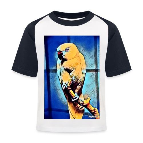 Bird in color - Lasten pesäpallo  -t-paita