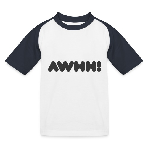 awhh - Kinder Baseball T-Shirt