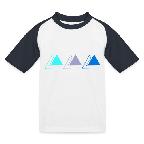 triple pyramide - T-shirt baseball Enfant