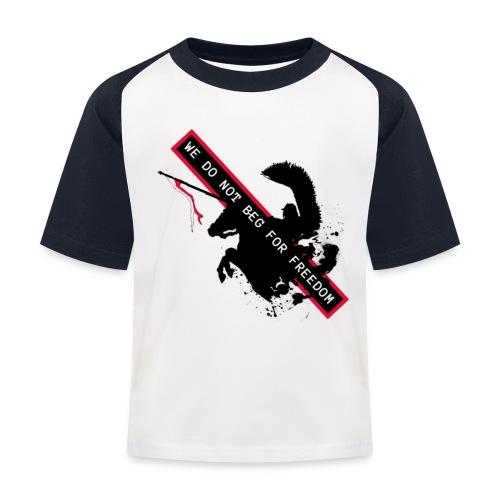 NOVEMBER 11TH WE DO NOT BEG FOR FREEDOM - Koszulka bejsbolowa dziecięca