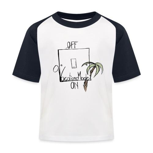 OnOff - Kinder Baseball T-Shirt