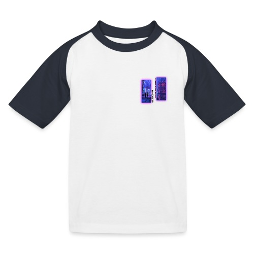 N-DER Cyber - T-shirt baseball Enfant
