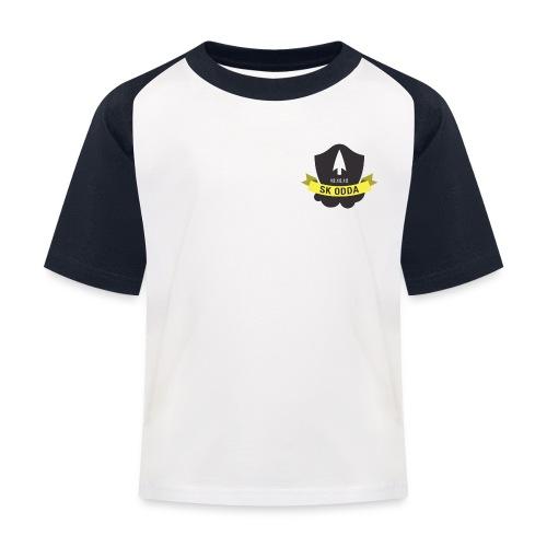 sk odda logo - Baseball-T-skjorte for barn