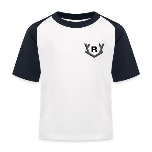 Rudolfi small logo - Kinderen baseball T-shirt