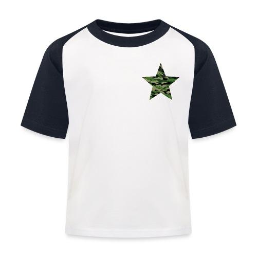 CamouflageStern - Kinder Baseball T-Shirt