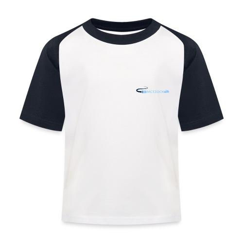 Logo schlicht - Kinder Baseball T-Shirt