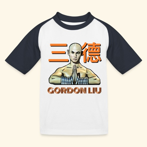 Gordon Liu - San Te Monk (Official) 6 prikker - Baseball T-shirt til børn