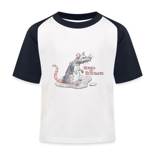 Rat - Kinder Baseball T-Shirt
