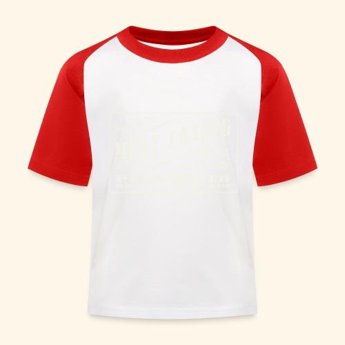 Prohibition Sign - Kids' Baseball T-Shirt
