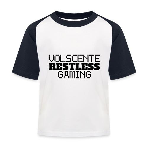 Volscente Restless Logo B - Maglietta da baseball per bambini