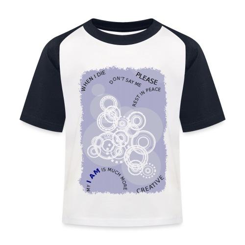 I AM MUCH MORE (donna/woman) - Maglietta da baseball per bambini