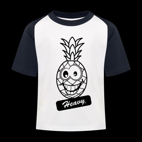 Design Ananas Heavy - T-shirt baseball Enfant