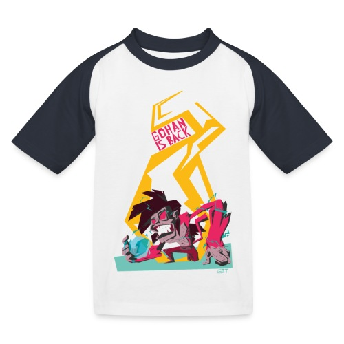 gohan dbz monkey - T-shirt baseball Enfant