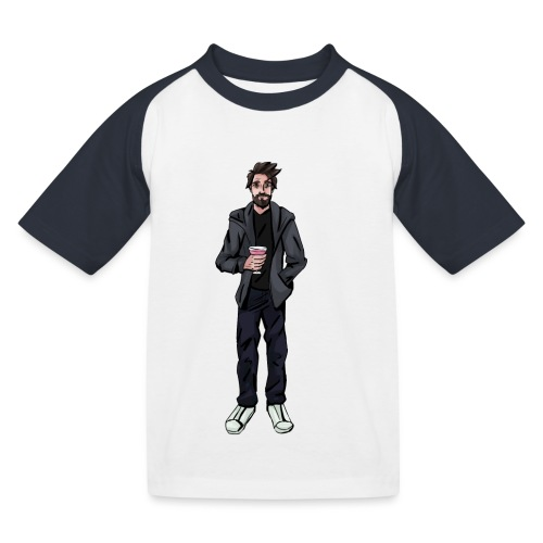Drink Guy - Kids' Baseball T-Shirt