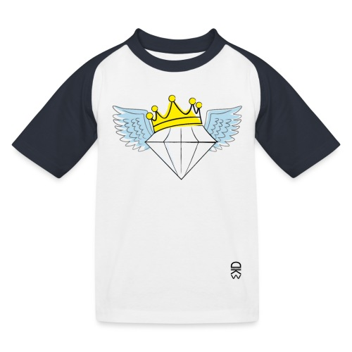 King Diamond Wings - Kids' Baseball T-Shirt