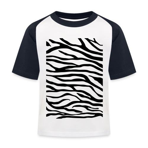 zebra v6 - Kinderen baseball T-shirt
