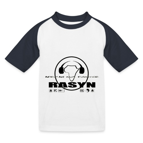 RASYN Peace Africa ® - Kinder Baseball T-Shirt