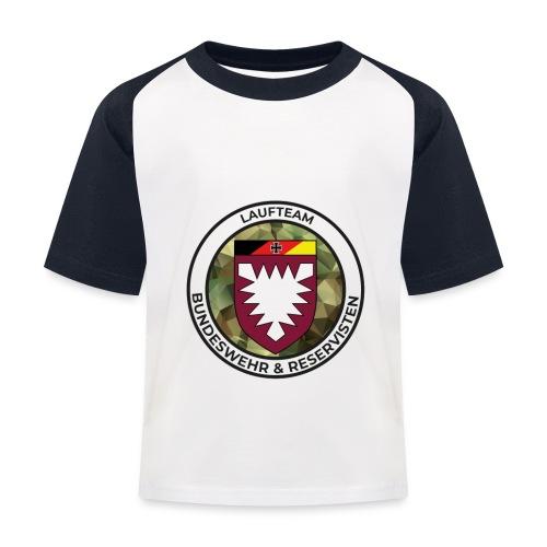 Logo des Laufteams - Kinder Baseball T-Shirt