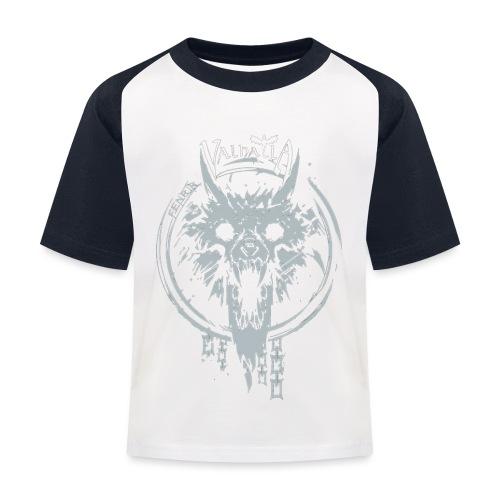 Valhalla Fenrir - Baseball T-shirt til børn