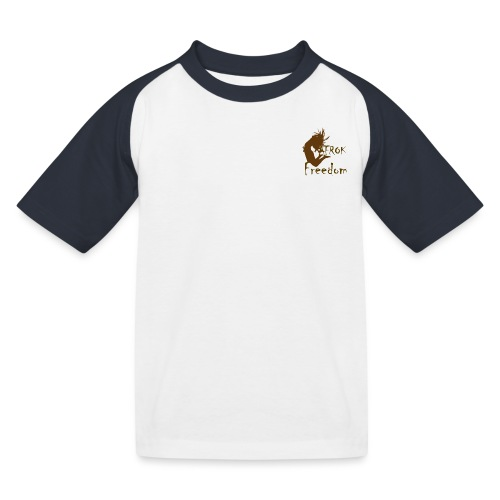 AFROK Freedom - Kids' Baseball T-Shirt
