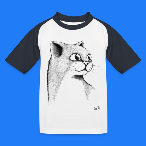 CAT HEAD by AGILL - T-shirt baseball Enfant