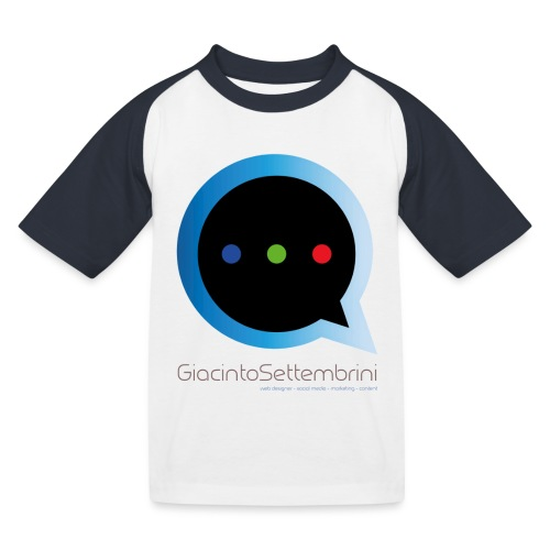 GS Model - Maglietta da baseball per bambini
