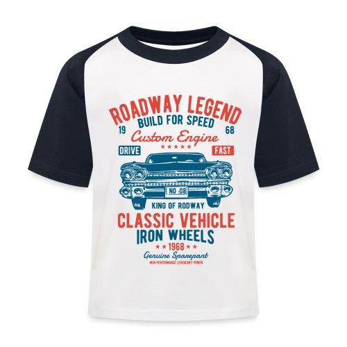 Roadway Legend - Kinderen baseball T-shirt