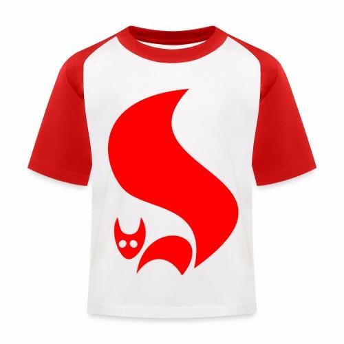 Eichhörnchen - Kinder Baseball T-Shirt