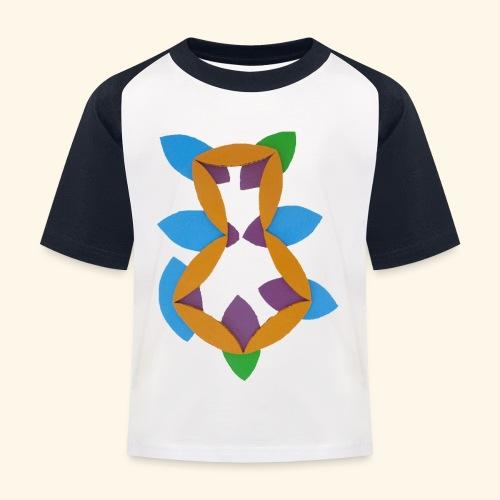oranjeblanjebleu - Kinderen baseball T-shirt