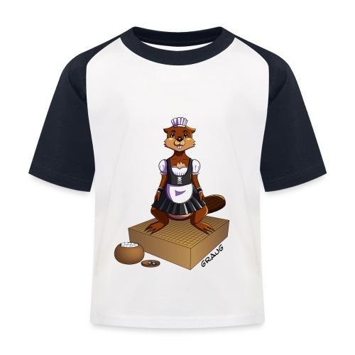 Pimp my Nuki - maid - T-shirt baseball Enfant