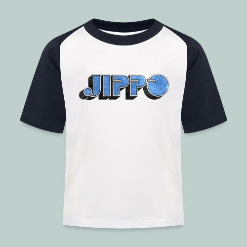 JIPPO LOGO (blue) - Lasten pesäpallo  -t-paita