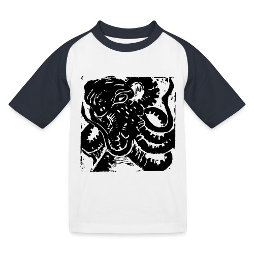 Museum Collection Octopus - Kids' Baseball T-Shirt