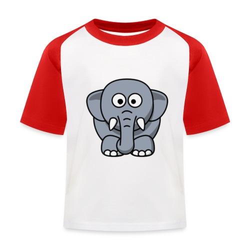 Olifantje - Kinderen baseball T-shirt