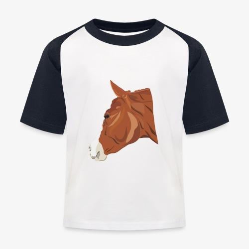 Quarter Horse - Kinder Baseball T-Shirt