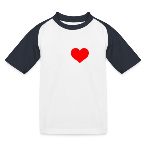 I Love Combat - White Font - Kids' Baseball T-Shirt
