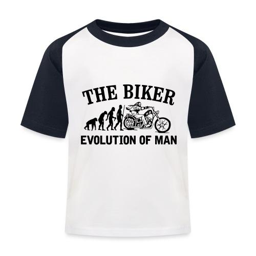 Evolution of man - Camiseta béisbol niño
