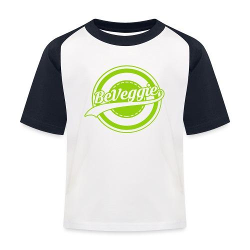 Be Veggie Veganer Statement - Kinder Baseball T-Shirt