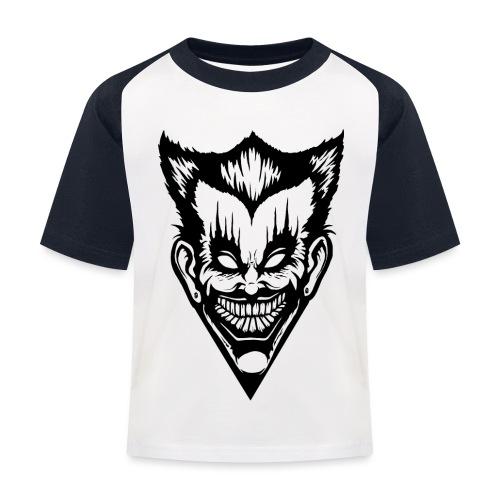 Horror Face - Kinder Baseball T-Shirt