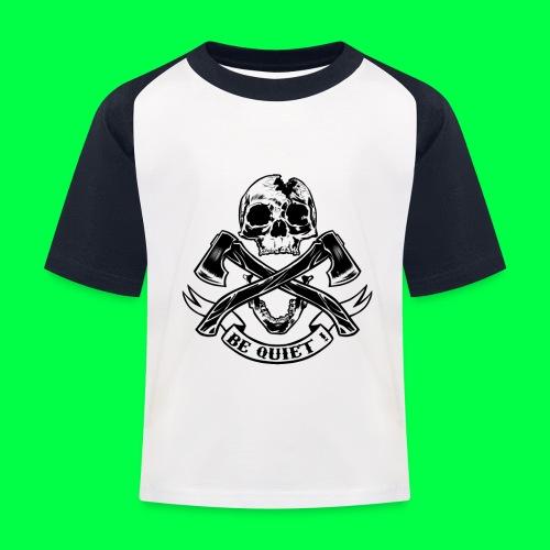 BE QUIET - T-shirt baseball Enfant