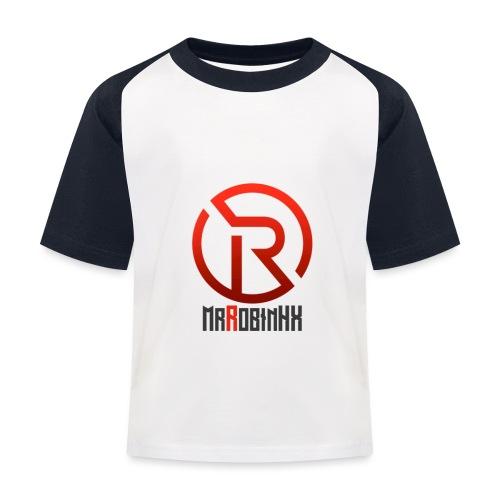MrRobinhx - Baseball-T-skjorte for barn