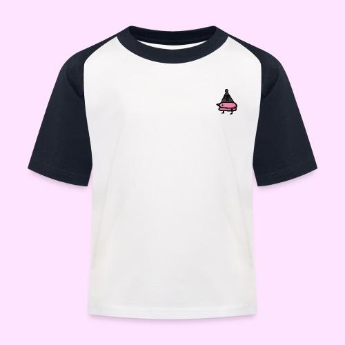 Squished Pinkguin - Baseball T-shirt til børn