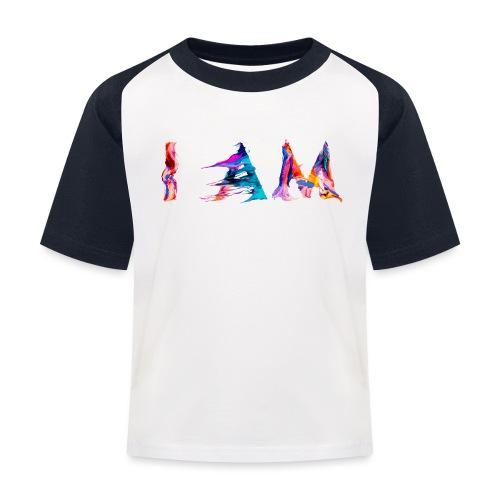 I AM - T-shirt baseball Enfant