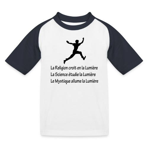 Lumière Religion Science Mystique - T-shirt baseball Enfant