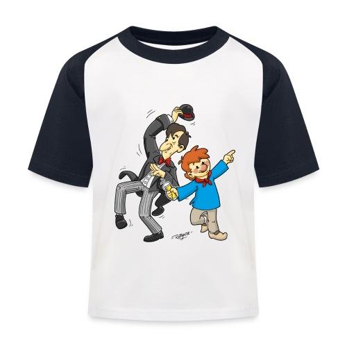 Köln Tünnes & Schäl - Kinder Baseball T-Shirt