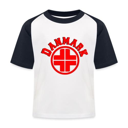 Denmark - Kids' Baseball T-Shirt