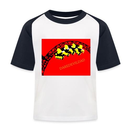 DareDevilDad - Kids' Baseball T-Shirt