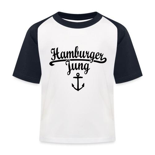 Hamburger Jung Klassik Hamburg - Kinder Baseball T-Shirt