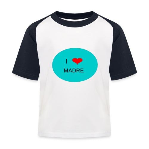 DIA DE LA MADRE - Camiseta béisbol niño