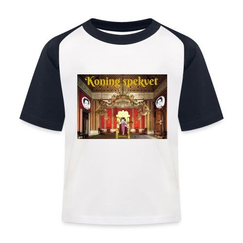 Koning Spekvet - Kinderen baseball T-shirt
