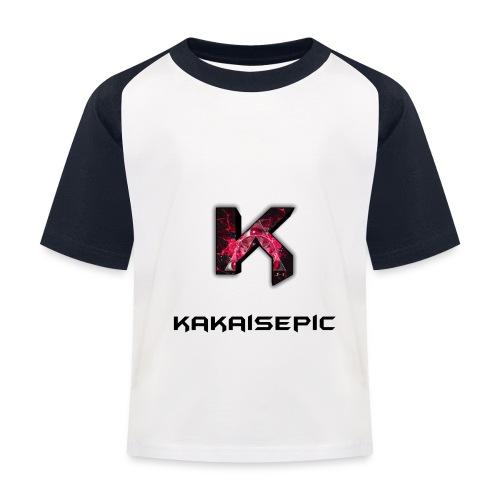kakaisepic logo - Kids' Baseball T-Shirt
